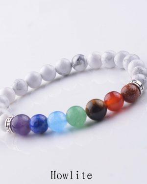 7 Chakra Bracelet Healing Balance Beads Yoga Bracelet